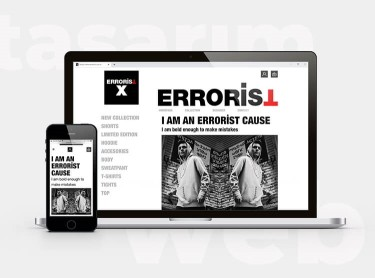 Errorist - Front-End Web Tasarım Hizmeti
